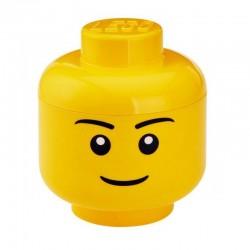 LEGO Pojemnik Głowa Rozmiar S CHŁOPIEC