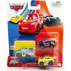 Mattel CARS AUTA Mini Racers Zestaw 3 Samochodzików ZYGZAK RAMIREZ ROMAN GKG66