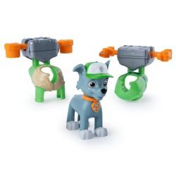SPIN MASTER Psi Patrol Figurka ROCKY Z PLECAKAMI 4271
