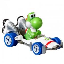 Hot Wheels Mariokart Samochodzik i Yoshi GBG29