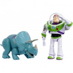 Toy Story Zestaw Figurek BUZZ ASTRAL I TRIXIE GJH80