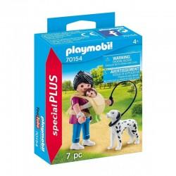 PLAYMOBIL 70154 Special Plus MAMA Z DZIECKIEM I PSEM