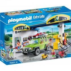 PLAYMOBIL City Life 70201 STACJA BENZYNOWA