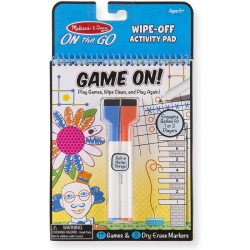 MELISSA & DOUG On The Go - GAME ON! Zmazywalne Gry 15056