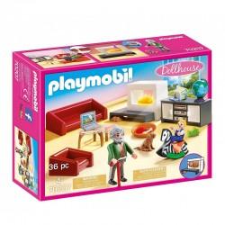 PLAYMOBIL Dollhouse 70207 PRZYTULNY SALON