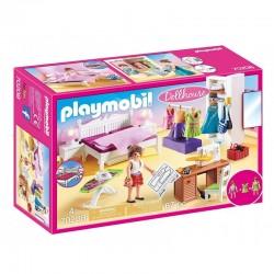 PLAYMOBIL Dollhouse 70208 SYPIALNIA Z KĄCIKIEM DO SZYCIA