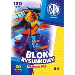 ASTRA Blok Rysunkowy A4 20 Arkuszy 9687