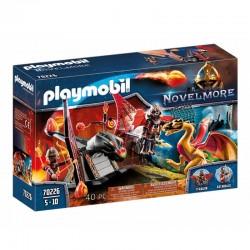 PLAYMOBIL Novelmore 70226 WOJOWNICY BURNHAM Trenujący Smoka