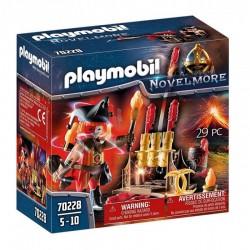 PLAYMOBIL Novelmore 70228 OGNIOMISTRZ WOJOWNIKÓW BURNHAM