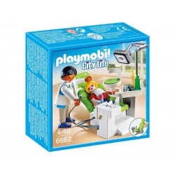 PLAYMOBIL 6662 CITY LIFE Szpital - Dentysta