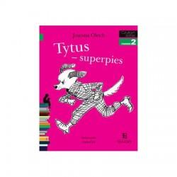 EGMONT Książka dla Dzieci Poziom 2 Czytam Sobie TYTUS - Superpies 0474
