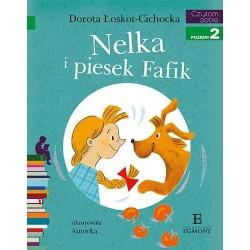EGMONT Książka dla Dzieci Poziom 2 Czytam Sobie NELKA i Piesek Fafik 3228