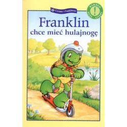 Wyd. Debit Literatura Dziecięca FRANKLIN CHCE MIEĆ HULAJNOGĘ 674983