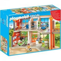 PLAYMOBIL 6657 CITY LIFE Szpital Dziecięcy z Wyposażeniem