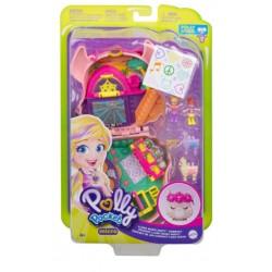 Mattel Polly Pocket Kompaktowy Zestaw LAMA MUSIC PARTY GKJ50