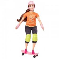 Mattel BARBIE Skateboarding Lalka Olimpijka GJL78