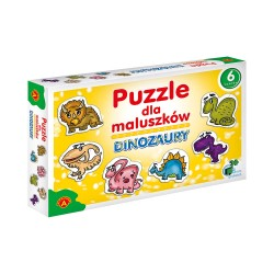 ALEXANDER Puzzle dla Maluszków DINOZAURY 5424