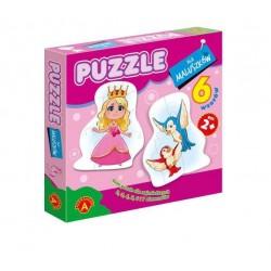 ALEXANDER Puzzle dla Maluszków KRÓLEWNA 7359