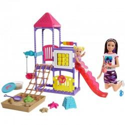 MATTEL Lalka Barbie Opiekunka Skipper PLAC ZABAW GHV89