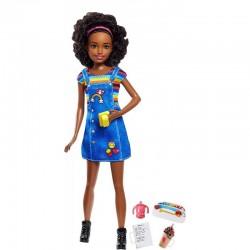 MATTEL Lalka Barbie Skipper Opiekunka Afroamerykanka FHY91