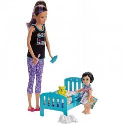 MATTEL Lalka Barbie Opiekunka Skipper CZAS NA SEN GHV88