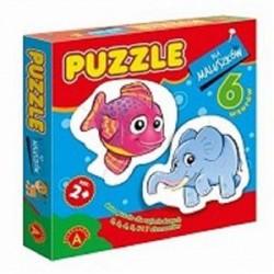 ALEXANDER Puzzle dla Maluszków RYBKA 7335