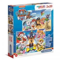 CLEMENTONI Puzzle 2x20 el. PSI PATROL 24776
