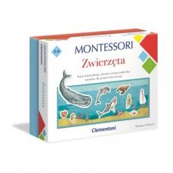 CLEMENTONI Montessori ZWIERZĘTA Zestaw Edukacyjny 50646