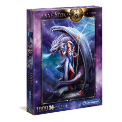 CLEMENTONI Puzzle Anne Stokes Collection DRAGON MAGE 39525