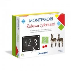 CLEMENTONI Montessori ZABAWA Z CYFERKAMI Zestaw Edukacyjny 50096