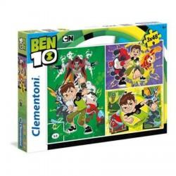 CLEMENTONI Puzzle 3x48 el. SuperColor BEN 10 25225