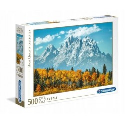 CLEMENTONI Puzzle 500 el. High Quality Collection GRAND TETON JESIENIĄ 35034