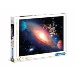 CLEMENTONI Puzzle 500 el. High Quality Collection MIĘDZYNARODOWA STACJA KOSMICZNA 35075
