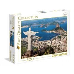 CLEMENTONI Puzzle 500 el. High Quality Collection RIO DE JANEIRO 35032
