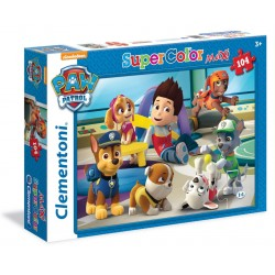CLEMENTONI Puzzle Maxi 104 Elementy SuperColor PSI PATROL 23970