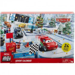 Mattel Cars Auta Mini Racers KALENDARZ ADWENTOWY GPG11