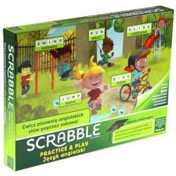 Mattel Gra Słowna SCRABBLE Practice & Play GGB32