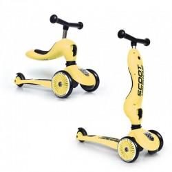 Scoot and Ride HULAJNOGA JEŹDZIK 2w1 Highwaykick 1 Lemon 96354