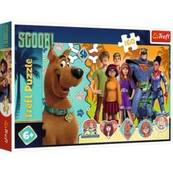 TREFL Puzzle 160 Elementów SCOOBY DOO! 15397