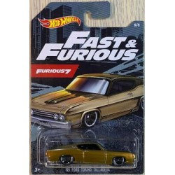 HOT WHEELS Fast&Furious 7 FORD TORINO TALLADEGA GJV61