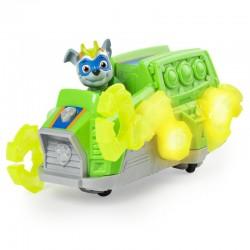 Spin Master PSI PATROL Mighty Pups Pojazd z Dźwiękiem Rocky DELUXE 1276