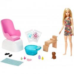 Mattel Barbie ZESTAW MANI-PEDI SPA GHN07