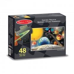 Melissa & Doug - 10413 - Puzzle Podłogowe - Puzzle 48 - Układ Słoneczny - Kosmos