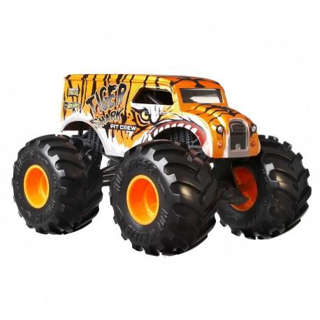 Mattel HOT WHEELS Monster Trucks TIGER SHARK PIT CREW GJG79
