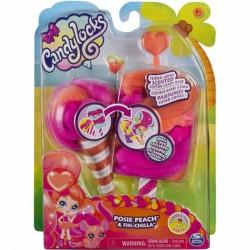 Spin Master Candylocks POSIE PEACH & FIN-CHILLA 3509