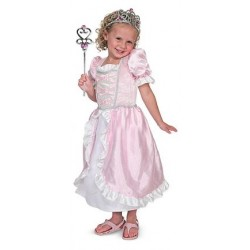 Melissa & Doug - 14785 - Strój Księżniczki - Kostium Księżniczki - Różowy