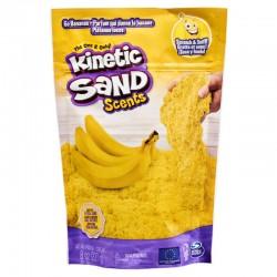 SPIN MASTER Kinetic Sand Zapachowy Piasek Kinetyczny 227 G BANANOWY ZAWRÓT GŁOWY 4652
