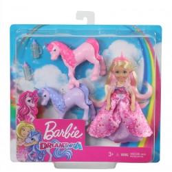 Mattel Barbie Dreamtopia CHELSEA I JEDNOROŻCE GJK17