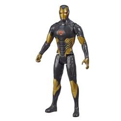Hasbro Marvel AVENGERS Titan Hero Series FIGURKA IRON MAN Czarny Strój E7878