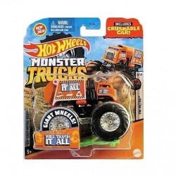 HOT WHEELS Monster Trucks WILL TRASH IT ALL GJD81